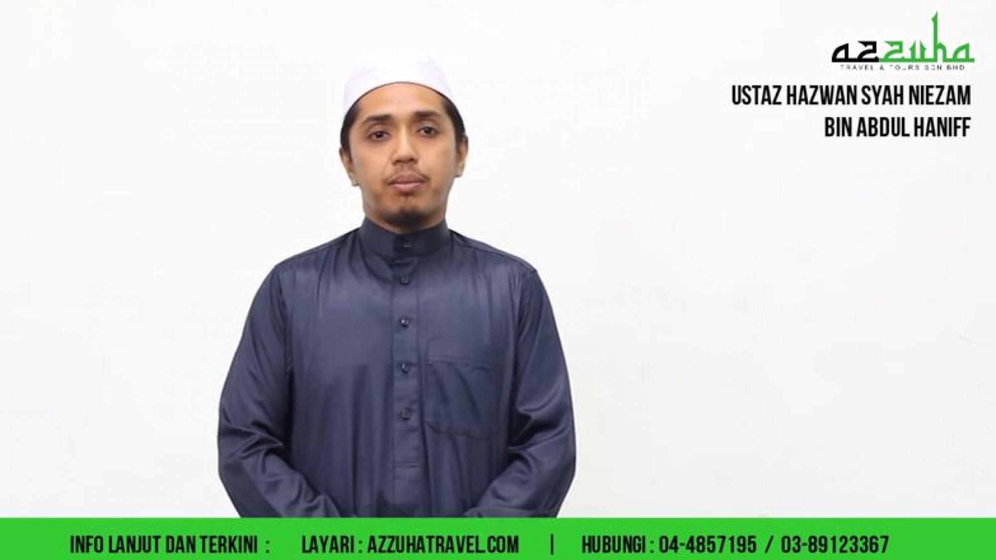 ustaz hazwan